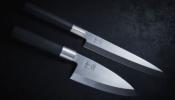 KAI Wasabi Black Deba szakácskés 15 cm-es