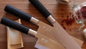 KAI Wasabi Black Deba szakácskés 21 cm-es