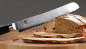 KAI Shun Classic kenyérvágó kés 23 cm-es damaszk