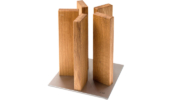 KAI Stonehenge mágneses késtartó blokk tölgyfa