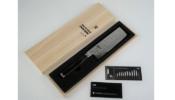 KAI Shun Premier TiM Mälzer Nakiri kés 14 cm-es damaszk