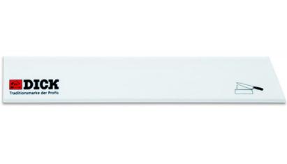 Dick pengevédő széles 30 cm-es fehér