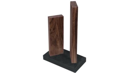 KAI Stonehenge mágneses késtartó diófa, gránit
