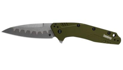Kershaw Dividend Olive Composite Blade zsebkés