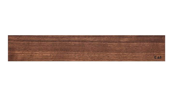 KAI Falra szerelhető mágneses késtartó diófa