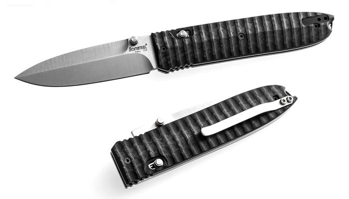 LionSteel Daghetta zsebkés Carbon fiber
